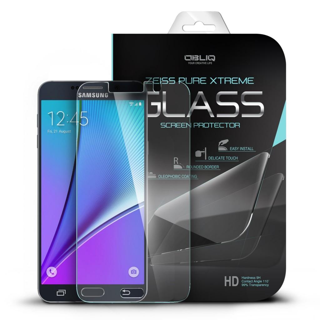 Ochranné tvrzené sklo 9H na displej pro Samsung Galaxy Note 5, Fólie.