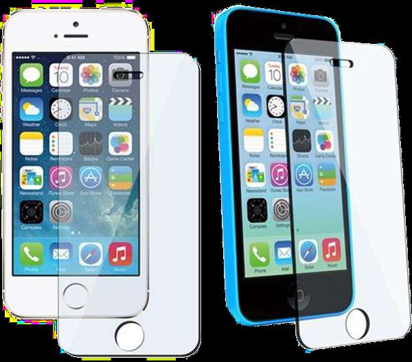 Ochranné temperované tvrzené sklo pro iPhone 5s, iPhone 5c a iPhone 5.