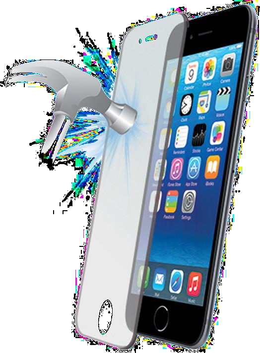 Tvrzené sklo iPhone 7.