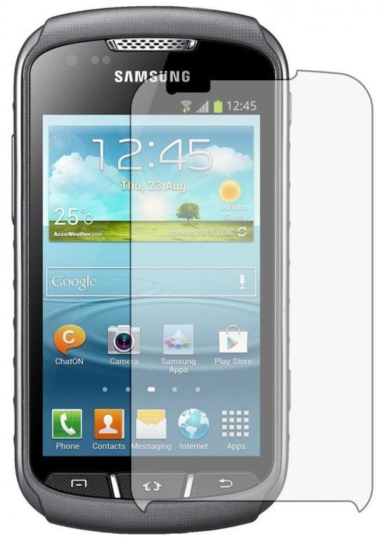 Ochranné tvrzené sklo na displej pro Samsung Galaxy Xcover 2, fólie.