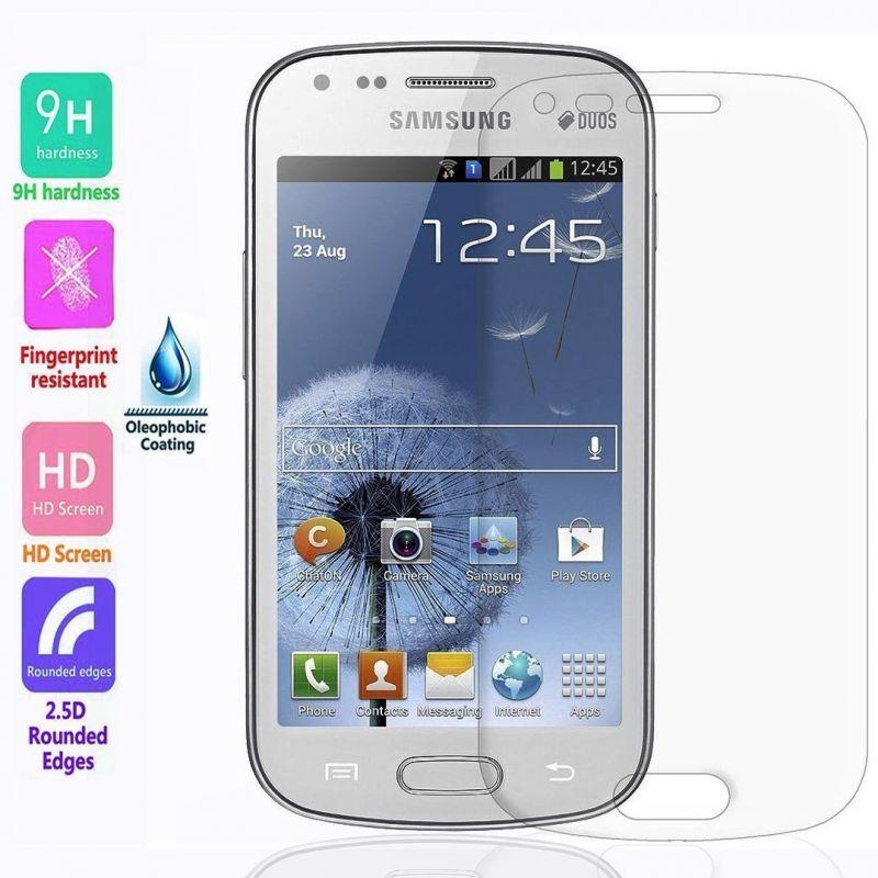 Ochranné tvrzené sklo na displej pro Samsung Galaxy S Duos a S Duos 2.