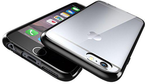 pruhledny ciry transparentni kryt obal pozudro cerne matne hybrid shadow iphone 6s 6