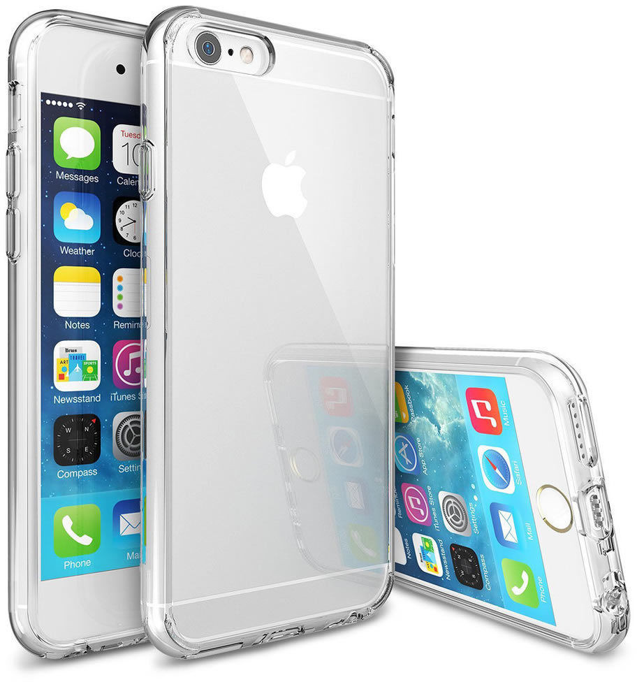 Průhledné / čiré / transparentní obaly a kryty na Apple iPhone 6s / 6s Plus / 6 Plus / 6 / SE/ 5s / 5c / 5 / 4s / 4.