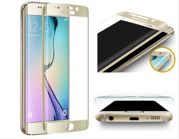 3D tvrzené sklo na displej pro Samsung Galaxy S6 Edge.