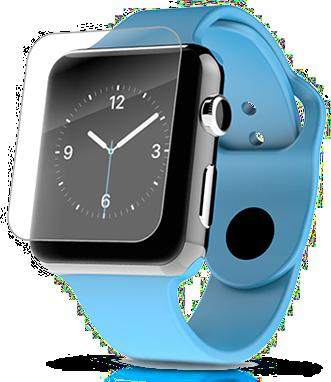 Ochranné tvrzené / temperované sklo pro chytré hodinky Apple Watch 38mm.