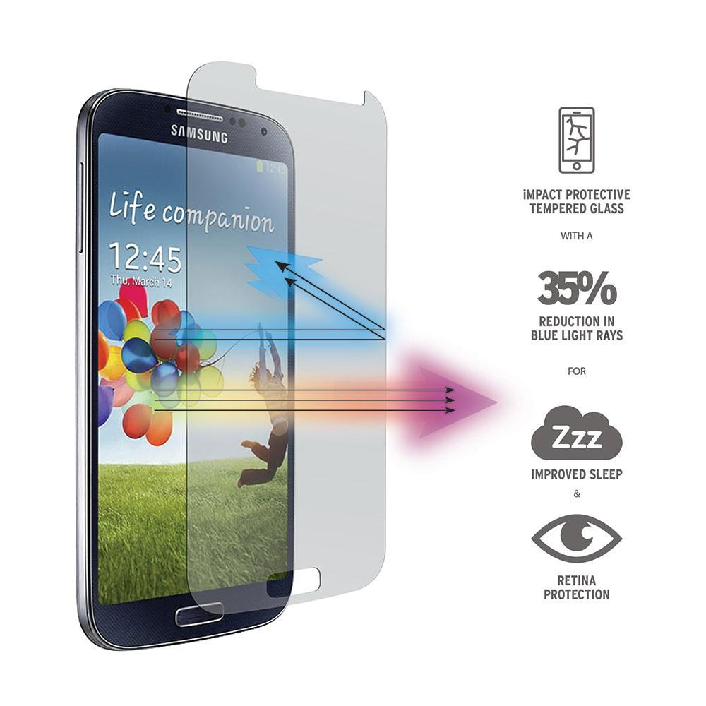 Ochranné tvrzené sklo na displej 9H pro Samsung Galaxy S4.