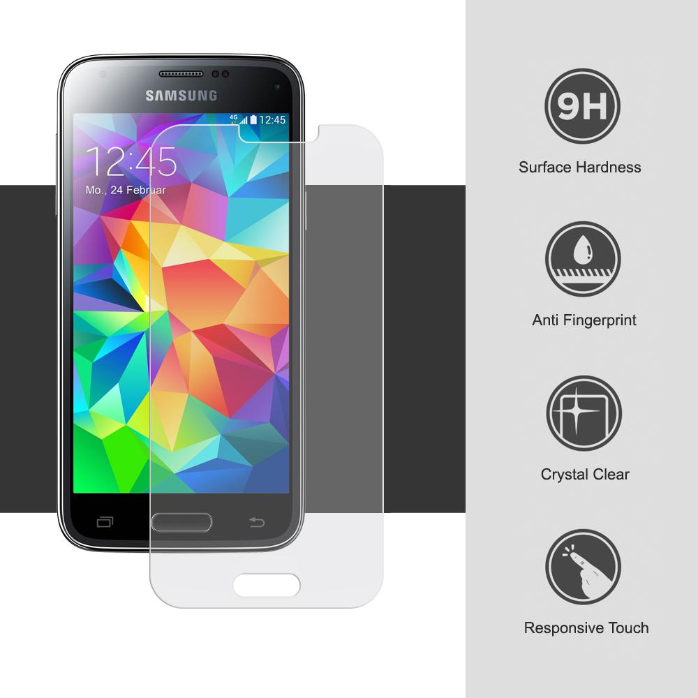 Ochranné tvrzené sklo na displej 9H pro Samsung Galaxy S5.