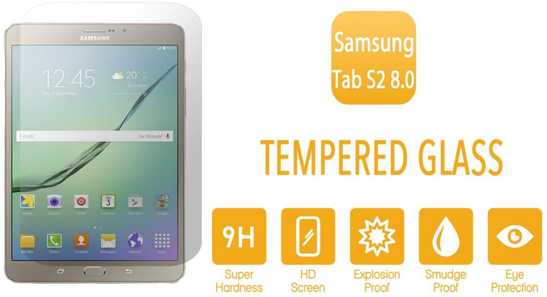 Tvrzené sklo na displej pro Samsung Galaxy Tab s2 8.0 fólie.