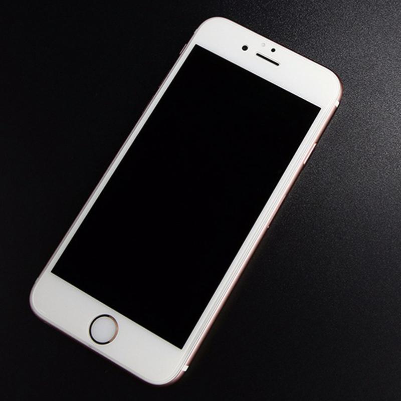 Tvrzené sklo na iPhone.