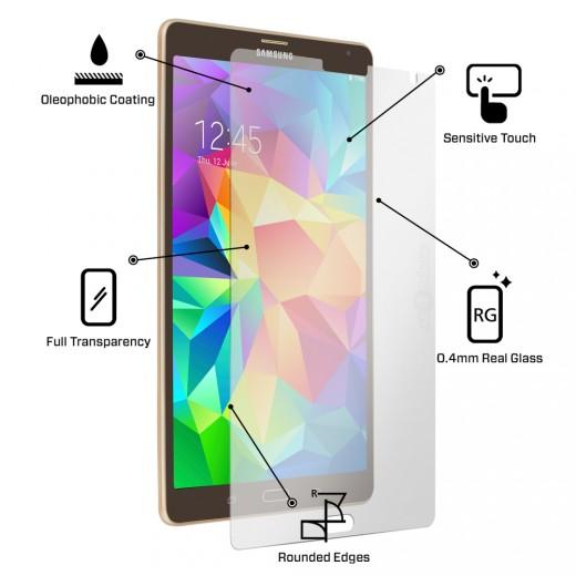 Tvrzené sklo na displej, fólie pro Samsung Galaxy Tab S 8.4