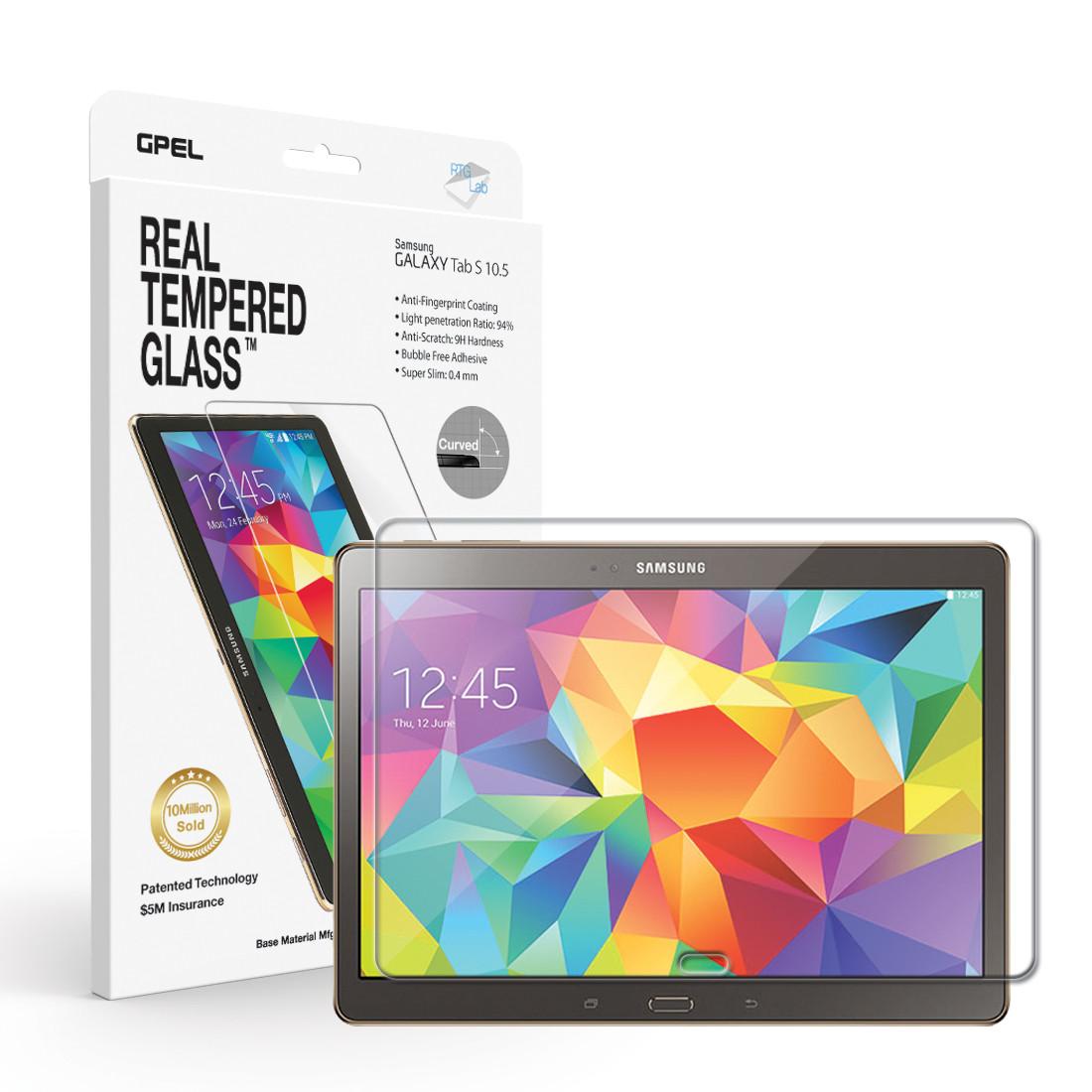 Tvrzené sklo na displej, fólie. Galaxy Tab S 10.5.
