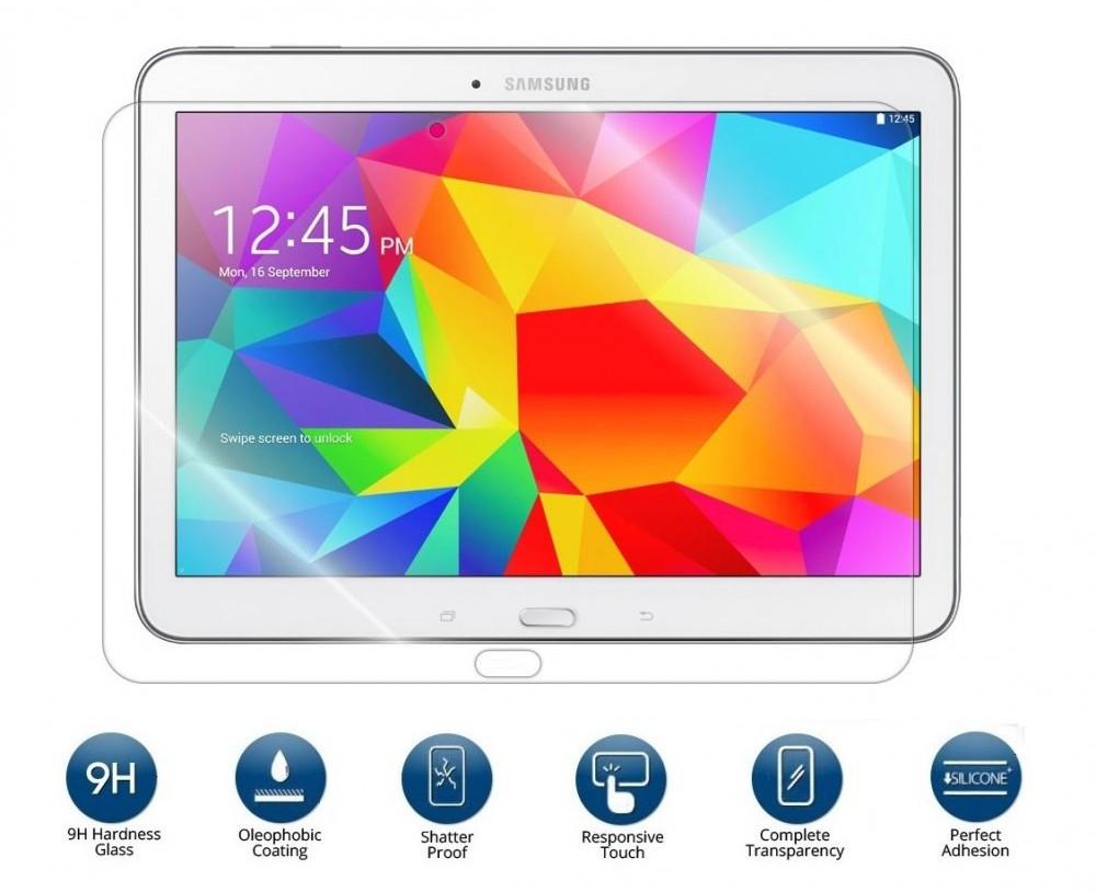 Ochranné tvrzené sklo na displej pro Samsung Galaxy Tab 4 10.1, Fólie na displej.