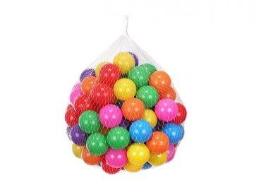 Loptičky do bazéna 100 ks farebné 5cm
