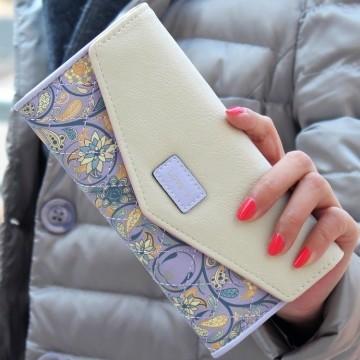 Loves fialová - peněženka