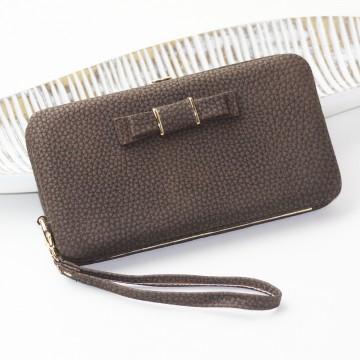 Elegant - Hnědá peněženka