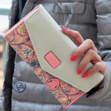 Loves ružová - peněženka
