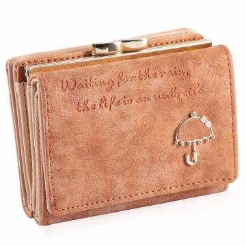 Umbrella malá - Sv.hnedá peňaženka