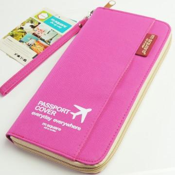 M Square - Cestovní organizér růžový