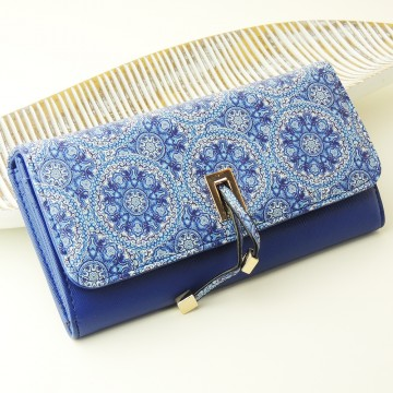 Florid - Modrá peněženka