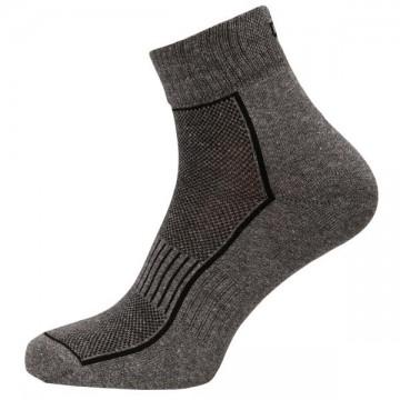 Silver celoroční - Šedé pánské ponožky