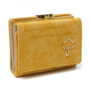 Umbrella malá - Žltá peňaženka