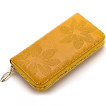 Flo Žlutá - Peněženka na zip