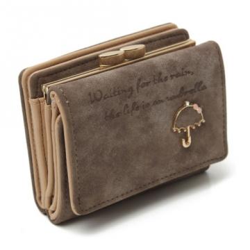 Umbrella malá - Tm.hnedá peňaženka