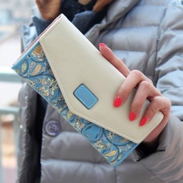 Loves modrá - peněženka