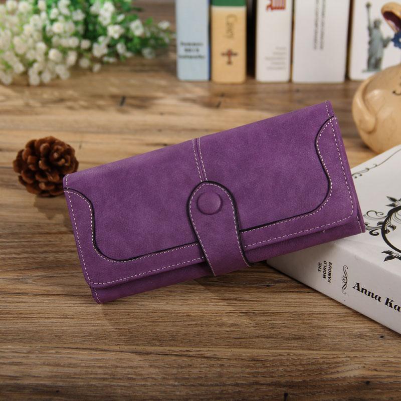 LadyBB - Fialová peněženka