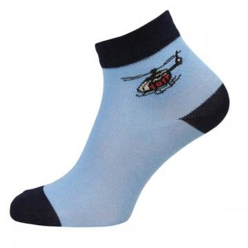 Walking vrtulník - Sv. modré dětské ponožky