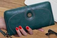 Nancy - Modrá dámská peněženka