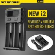 Univerzálna Inteligentná nabíjačka batérií - Nitecore NEW i2