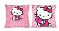 Povlak na polštářek Hello Kitty srdíčka 40/40