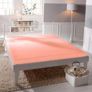 Jersey prostěradlo Premium Bed - Světle lososové