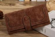 ELEGANT hnědá peněženka