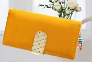 DOTS long žlutá peněženka