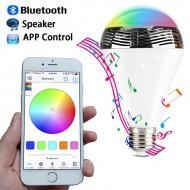 Inteligentná LED žiarovka s Bluetooth reproduktorom
