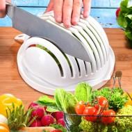 Krájecí mísa pro přípravu salátů