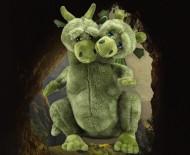 Velký zpívající plyšový drak Čmoudík + PEXESO