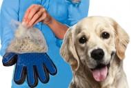 Vyčesávací rukavice na srst