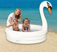 Dětský nafukovací bazén - Labuť