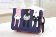 Peněženka LADY-CAT mini tmavě modrá
