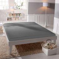 Jersey prostěradlo Premium Bed lycra DeLuxe - Šedé
