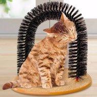 Masážní kartáč a škrabadlo pro kočky