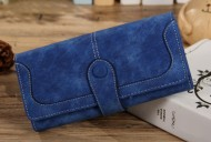 ELEGANT tm.modrá peněženka