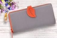 Dámská peněženka LEAF - oražová