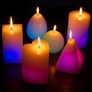 Kouzelná svíčka multicolor