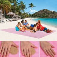 Plážová podložka - Sand Free - L ružová