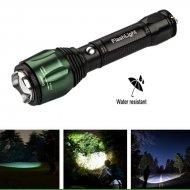 Nabíjacia LED baterka SWAT s funkciou ZOOM