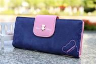 Dámská peněženka WISER BEAR - modrá